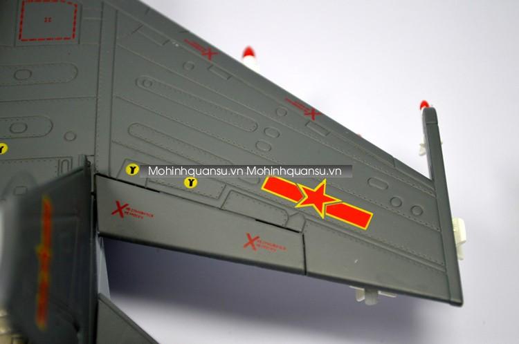 Mô phỏng cánh máy bay mô hình Su30MKK