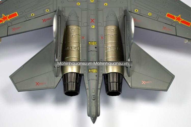Mô phỏng đuôi máy bay Mô hình Su30 MKK