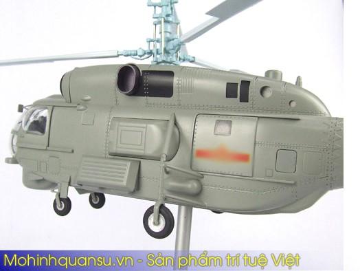 Mô hình mô phỏng máy bay trực thăng KA-28 của hải quân Việt Nam