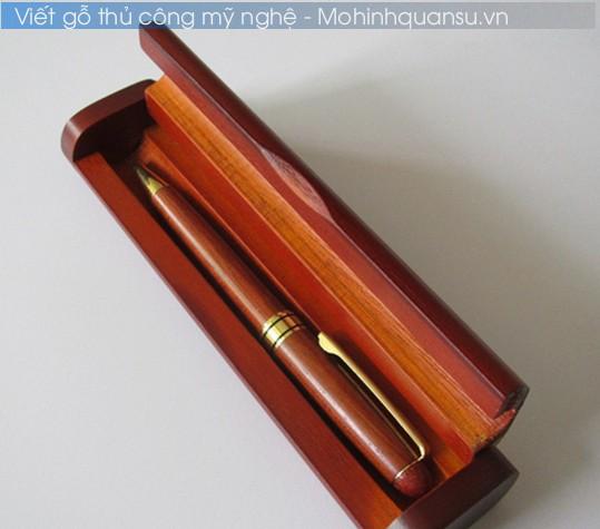 Viết Gỗ và hộp đựng viết làm từ gỗ cao cấp