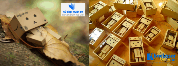 Búp bê danbo ý nghĩa làm từ gỗ thông
