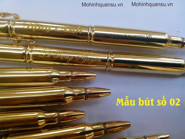 Quá rẻ cho sản phẩm bút viết làm từ vỏ đạn tinh xảo và đẹp mắt