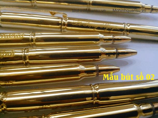 Cây bút làm từ vỏ đạn ar15