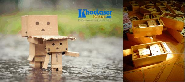 Địa chỉ bán búp bê robot gỗ thông danboard ở Hà Nội
