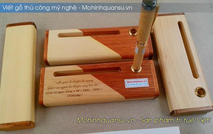 Hộp bút gỗ thủ công tại Hà Nội