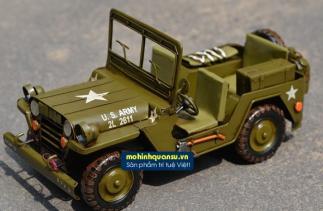 Mô hình xe quân sự Jeep của quân đội Mỹ