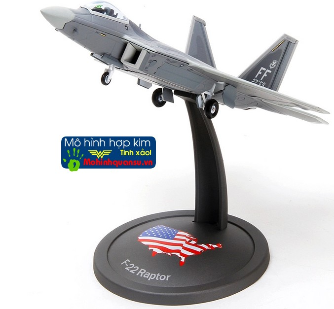 Mô hình máy bay tàng hình F22 của Mỹ