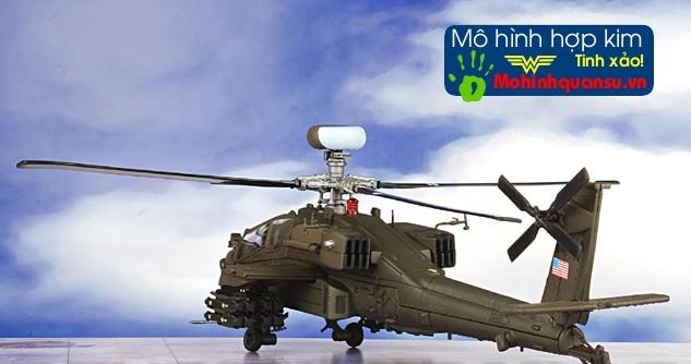 Mô hình máy bay trực thăng AH-64D với các chi tiết rất tinh xảo và đẹp mắt