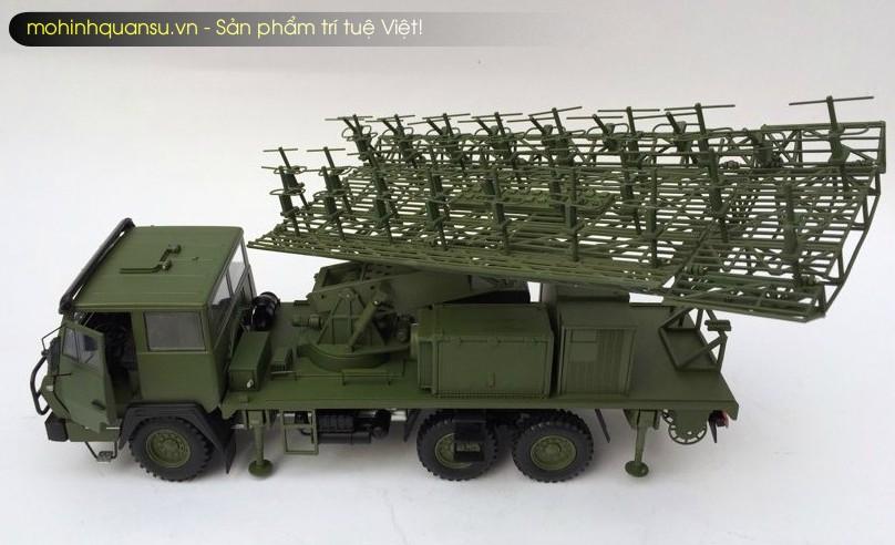 Mô hình radar bằng hợp kim mô phỏng theo nguyên bản radar JY