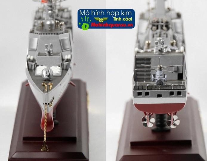 Mô hình tàu khu trục hạm làm từ hợp kim thích hợp cho việc dùng trưng bày hoặc dùng làm quà tặng hoặc quà biếu