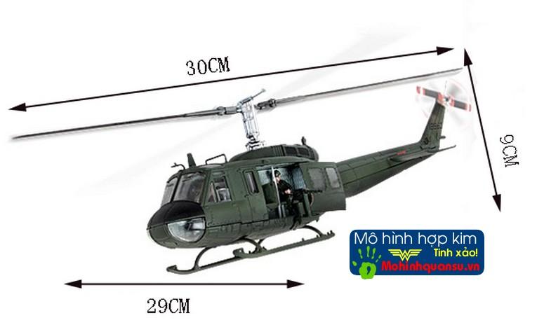 Mô hình máy bay trực thăng UH1