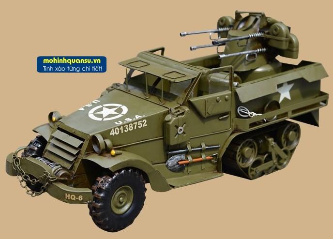 Mô hình xe bọc thép thế chiến thứ 2