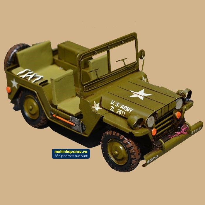 Mô hình xe quân sự Jeep