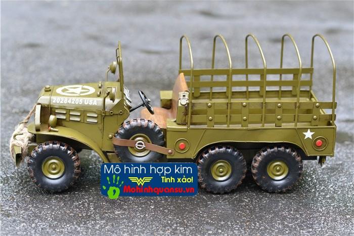 Mô hình xe tải quân đội Mỹ