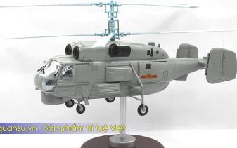 Mô hình máy bay trực thăng chống tàu ngầm KA28 của Việt nam